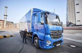 Mercedes-Benz eActros Mulai Uji Coba Praktis di Cologne.