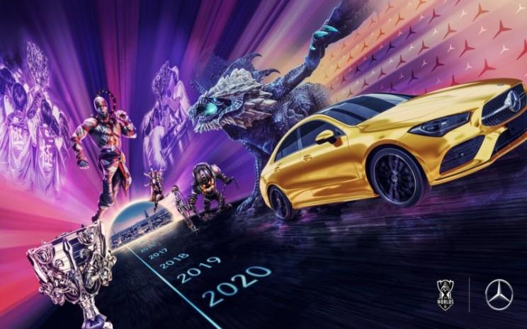 Mercedes/Benz Jadi Mitra Eksklusif Esports League of Legends