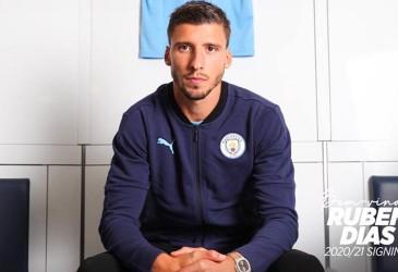 Ruben Dias Penerus Kompany di Manchester City?