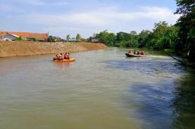 Seorang Bocah di Indramayu Hilang di Sungai Cimanuk