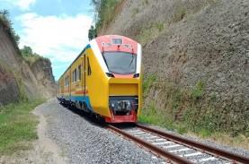 KA Trans Sulawesi, Fase Pangkep-Maros 59,6 Km Tuntas…