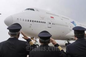 Unik! Pesawat Garuda Indonesia Bermasker
