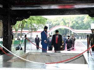 Presiden Joko Widodo Pimpin Upacara Hari Kesaktian Pancasila