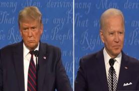 Pilpres AS 2020: Debat Trump-Biden Kacau, Komisi Penyelenggara…