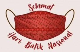 Hari Batik Nasional, Jokowi Pamer Masker Keren dari Batik