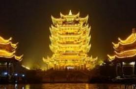 China Sulap Menara Bangau Kuning Wuhan jadi Objek…