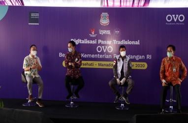 Digitalisasi Pasar Bersehati Manado Dorong Adaptasi Teknologi Digital di Sulut