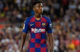 Bintang Muda Barcelona Ansu Fati, 16 Tembakan 11 Gol