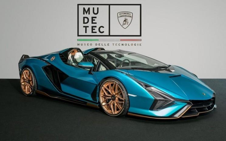 Lamborghini Sian Roadster di Mudetec.  - Lamborghini