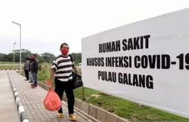 Pagi Ini, RSKI Pulau Galang Rawat 195 Pasien Covid-19