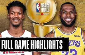 Hasil Final Basket NBA, LA Lakers Gasak Miami Heat Lagi
