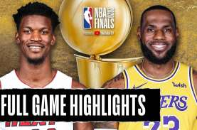 Hasil Final Basket NBA, LA Lakers Gasak Miami Heat…