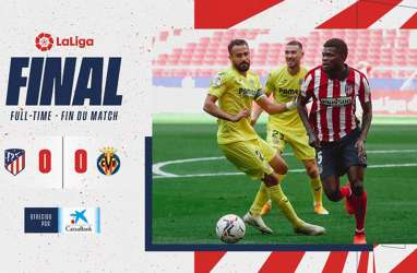 Hasil La Liga : Luis Suarez Mentok Lagi, Atletico Seri 0–0 Lagi