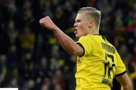 Hasil Bundesliga : Frankfurt Pimpin Klasemen, Dortmund…