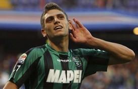 Gasak Crotone 4–1, Sassuolo Pimpin Klasemen Serie A Italia