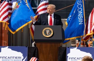 Bagaimana Skenario Pilpres AS jika Trump Absen akibat Covid-19?