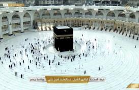 Foto-foto Sepinya Ibadah Umrah di Masjidil Haram