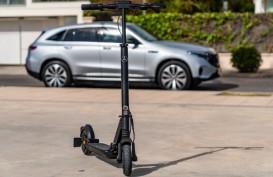 Mercedes Benz eScooter, Mudah Dilipat dan Ringan
