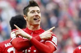 Hasil Bundesliga : Lewandowski Cetak 4 Gol, Munchen…