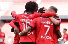 Hasil Liga Prancis : Seri vs Reims, Rennais Kembali Puncaki Klasemen
