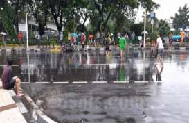 Jakarta Banjir, 56 RT dan 10 Ruas Jalan Terendam