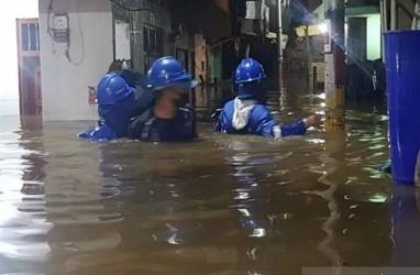 Penampakan Kebon Pala Terendam Banjir 1,5 Meter AKibat Ciliwung Meluap