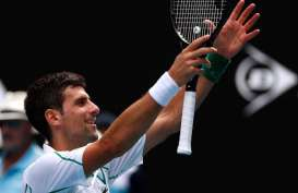 Djokovic, Tsitsipas, Rublev Lolos ke Perempat Final Prancis Terbuka