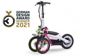 Berdesain Unik, Yamaha Tritown Sabet German Design…