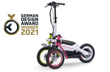 Berdesain Unik, Yamaha Tritown Sabet German Design Award 2021