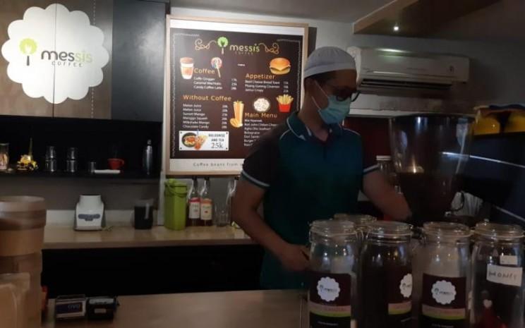 Messis Restaurant menyediakan kopi beraroma permen. - istimewa