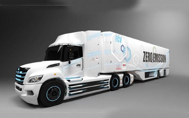 Truk hidrogen Toyota dan Hino.  - Toyota