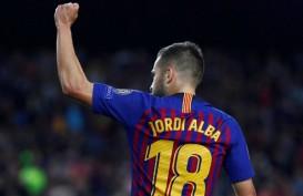 Lawan Real Madrid dan Juventus, Barcelona Terancam Tanpa Jordi Alba