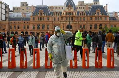 Tak Ada Isolasi, Argentina Tertinggi Positif Covid-19 di Dunia