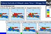 Ada Potensi Kebakaran Hutan di Sejumlah Titik Pulau Jawa