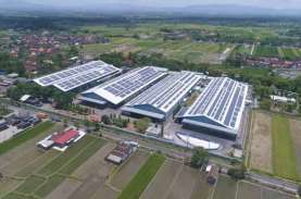 Pabrik Danone-Aqua Pasang Panel Surya Atap Terbesar…