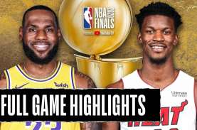 Los Angeles Lakers di Ambang Juara Basket NBA