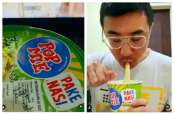 Wow, Axton Salim Pamer Makan Pop Mie Pake Nasi