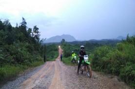 Pembangunan Jalan Perbatasan di Kalimantan Berlanjut