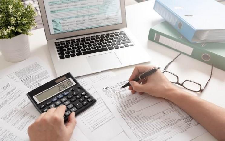 Ilustrasi akuntan