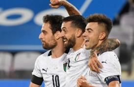 Cetak Gol di Laga Debut, Caputo Bikin Sejarah Bersama Gli Azzurri