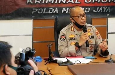 Polda Metro Jaya BantahMal Plaza Indonesia Dibakar