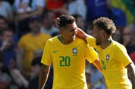 Jadwal Pra-Piala Dunia 2022 : Brasil vs Bolivia, Argentina…
