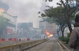 Demo UU Cipta Kerja, Polisi Amankan 2 Orang Diduga Pembakar Pos Polisi Tomang