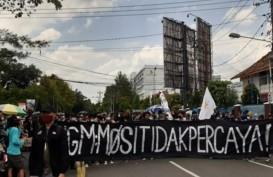 Demo Tolak UU Cipta Kerja di Yogyakarta Rusuh, PKL Malioboro Tutup