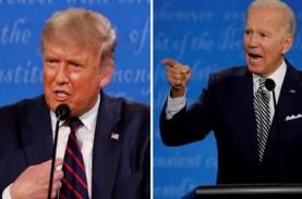 Takut Mikrofon Dimatikan, Trump Tolak Debat Virtual