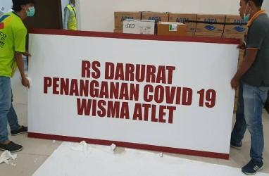 Kabar Baik, Pasien Bergejala Covid-19 di Wisma Atlet Berkurang 100 Orang