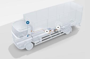 Bosch eRegioTruck, Solusi Powertrain Truk Listrik 26 Ton