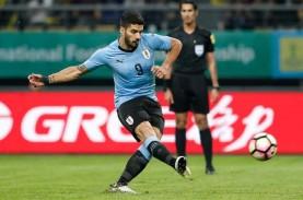 Hasil Pra-Piala Dunia 2022 : Dikalahkan Uruguay, Cile…