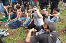 Buntut Demo UU Cipta Kerja, Polisi Tangkap 1.548 Pelajar
