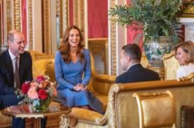 Tampil Serasi Saat Bertemu Presiden Ukraina, Kate…